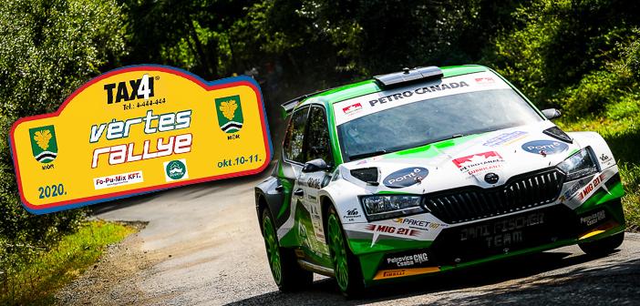 Visszanézhető a Vértes Rallye!